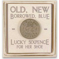 A Lucky Sixpence For Her Shoe