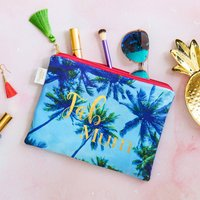 Personalised Fab Friend Velvet Pouch