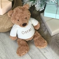 Personalised Traditional Teddy Large Soft Toy