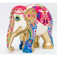 Love Wild Love Free Hand Painted Elephant