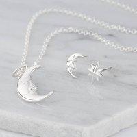 Moon And Star Jewellery Set
