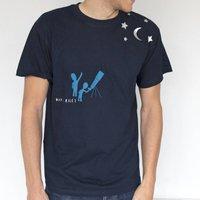 Personalised Telescope Star Gazing T Shirt