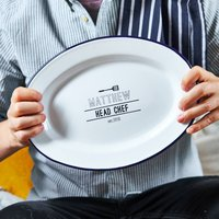 Head Chef Personalised Serving Platter