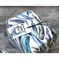 Funny Whaley Love You Whale Wrapping Paper