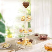 Personalised Afternoon Tea Three Tier Cake Stand