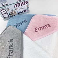 Personalised Hooded Baby Towel