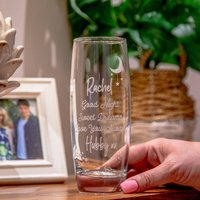 Personalised Special Message Hi Ball Glass Tumbler