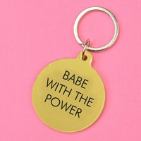 Babe With The Power Keytag
