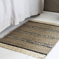 Striped Seagrass Rug