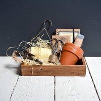 Tidy Gardener Garden Tools And Seeds Gift Set
