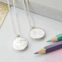Personalised Childs Drawing Locket