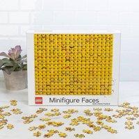Lego Minifigure Faces 1000 Piece Puzzle