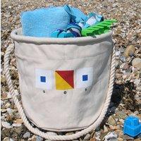 Beach Bag With SOS Design