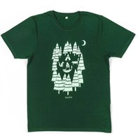 Organic Men's Foxes In The Forest T Shirt