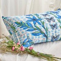 Silk Pillowcase 'Folk Butterfly'