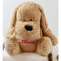 Personalised Large Snuggly Cuddly Dog