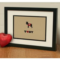 'Personalised Schnauzer Print' Dog Lover Gift