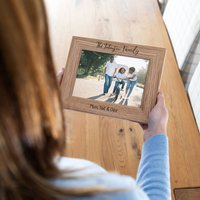 Personalised Family Portrait Photo Frame