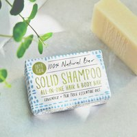 100% Natural Solid Shampoo Lavender And Tea Tree