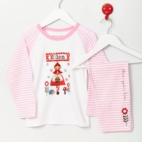 Girls Personalised Little Red Riding Hood Pyjamas