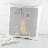 Personalised Guess How Much I Love You Cushion