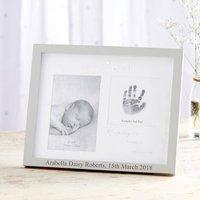 Personalised Double Photo '1st Grandchild' Photo Frame