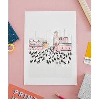 Meowry Stick Cats Artist Print