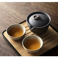 Palm Size Teapot Teacup Set Ring Series