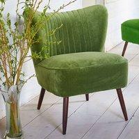 The New Bartholomew Cocktail Chair In Omega Velvet
