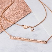 I Love You Infinity Plus One Necklace