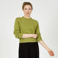 Womens Alana Apple Green Lightweight Jumper