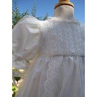 Christening Gown Marianna, Ivory/White
