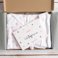 Stars Letter Box New Baby Gift Set