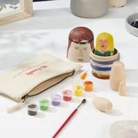 Personalised Russian Doll Family Craft Kit