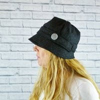 Yorkshire Twill Tweed Cloche Hat