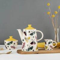 Handmade Ceramic Moth Teapot