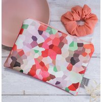 Blush Handmade Faux Leather Pouch