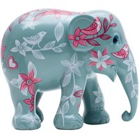 A Love Story Hand Painted Elephant
