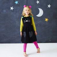 Halloween Cat Pinafore Dress Up