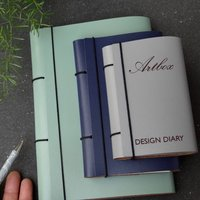 Leather Art Diary With Refillable Leather Sketch Book