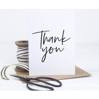 Simple Thank You Card Pack