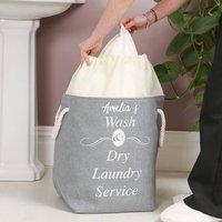 Personalised Laundry Service Washing Bag