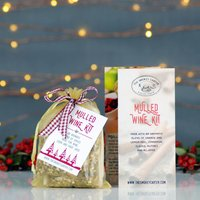 Christmas Mulled Wine And Cider Kit