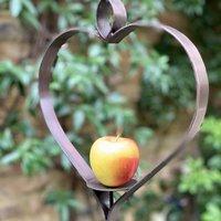 Heart Apple Bird Feeder