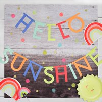Neon Multicolour Any Text Garland Kit