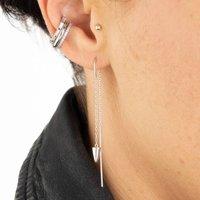 Dagger Threader Drop Earrings