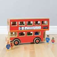Deluxe London Bus Toy Playset