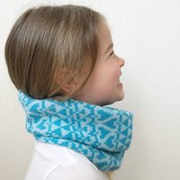 Childrens Knitted Lambswool Snood