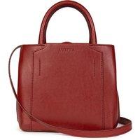 Vegan Mini Handbag: Dark Red