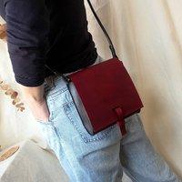 Leather Mini Satchel Choose Your Colours